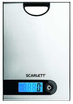 Весы кухонные электронные Scarlett SC-KS57P98 макс.вес:5кг стальной