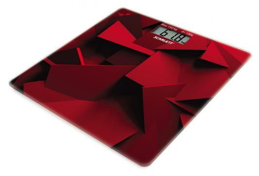 Весы напольные Scarlett SC-BS33E086 красный весы напольные scarlett sc bs33e086