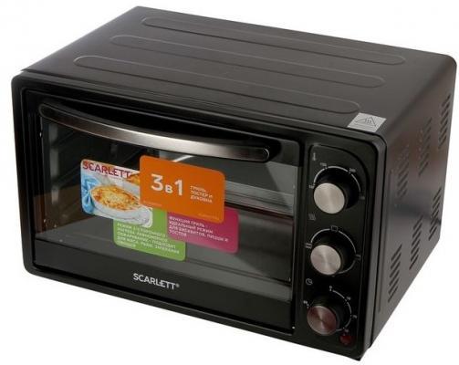 Мини-печь Scarlett SC-EO93O20 42л. 1600Вт черный
