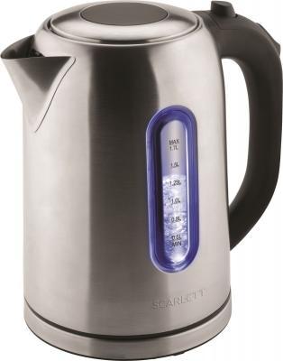 Чайник электрический Scarlett SC-EK21S50 1.7л. 1800Вт нержавеющая сталь (корпус: металл)
