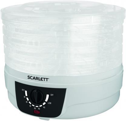 Сушилка для овощей и фруктов Scarlett SC-FD421004 белый