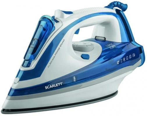 Утюг Scarlett SC-SI30K29 2200Вт белый/синий цена
