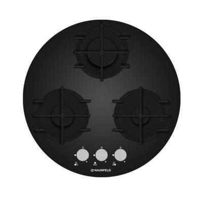 все цены на Варочная панель газовая Maunfeld MGHG.53.19B черный