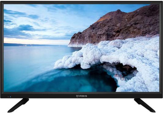 Телевизор LED 32 Irbis 32S30HD106B черный 1366x768 50 Гц Разьем для наушников VGA USB HDMI телевизор 39 akai lea 39z72t черный 1366x768 50 гц vga разьем для наушников