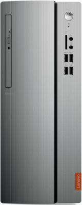 все цены на ПК Lenovo IdeaCentre 510-15IKL MT i3 7100 (3.9)/4Gb/1Tb 7.2k/HDG630/DVDRW/CR/Free DOS/GbitEth/180W/черный/серебристый