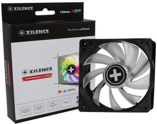 XILENCE Performance A+ case fan, XPF120RGB, 120mm LED RGB M/B sync, Hydro bearing, PWM brand new original adda ab07005hx07kb00 dc5v 0 40a qat10 notebook fan