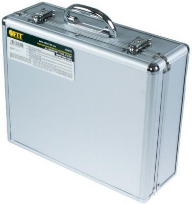 Ящик для инструмента FIT 65610 алюминиевый (34 x 28 x 12 см) ящик для хранения hausmann без крышки цвет коричневый 31 x 34 x 29 5 см