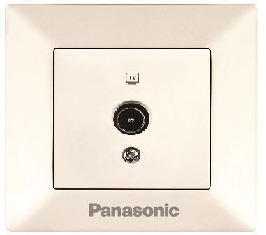 Розетка PANASONIC WMTC0451-2BG-RES Arkedia TV концевая крем розетка panasonic wmtc0452 2bg res pacific