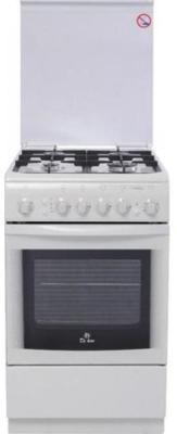 Газовая плита De Luxe 506040.01Г (КР) ЧР белый