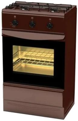 Газовая плита TERRA GER 5204 Br коричневый газовая плита terra sh 14 120 04 br коричневый