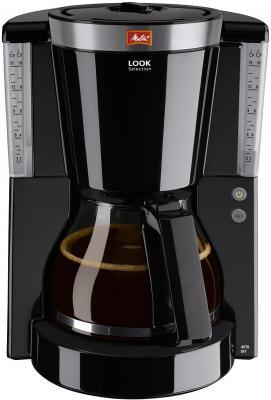 Кофеварка капельная Melitta Look IV Timer 1000Вт черный кофеварка melitta optima timer черный