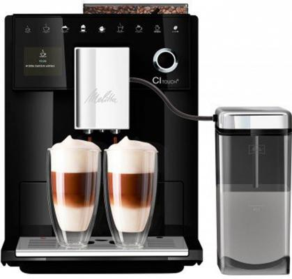 Кофемашина Melitta Caffeo CI Touch 1450Вт черный кофемашина krups ea826 1450вт 1 8л черный