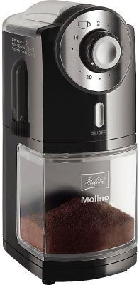 Кофемолка Melitta Molino 100 Вт черный цена и фото