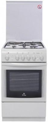Комбинированная плита De Luxe 506031.00гэ(кр) белый комбинированная плита de luxe 506040 00гэ