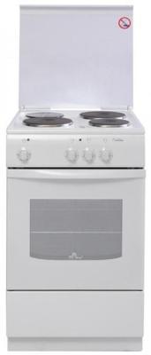 Электрическая плита De Luxe 5003.17э(кр) белый