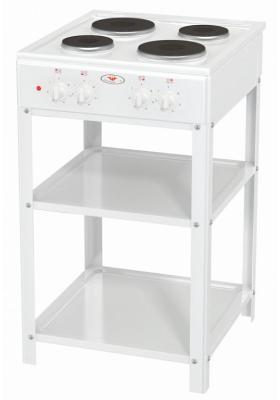 Электрическая плита Дачница ЭБЧ-5-4-5-220 W белый