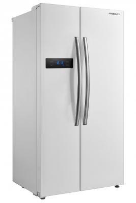 Холодильник Side by Side Kraft KF-MS2580W белый цена 2017
