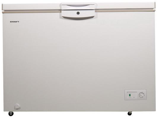 KRAFT HGM 425 (белый + бежевый) Морозильник ларь регулируемая скамья kraft fitness kffiuby