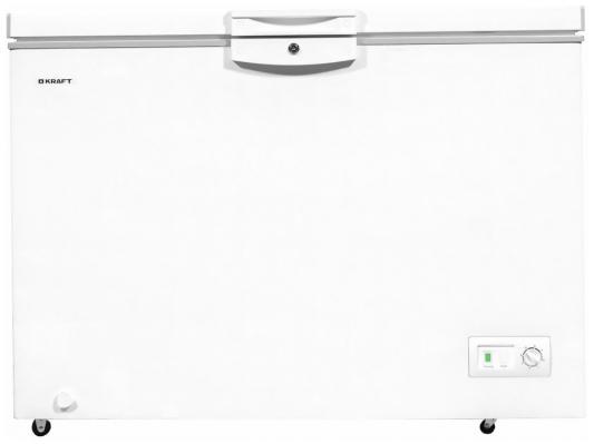 Морозильный ларь Kraft HSM 425 белый серебристый регулируемая скамья kraft fitness kffiuby