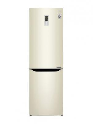 Холодильник LG GA-B419SYGL бежевый холодильник lg ga b409seqa бежевый