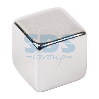 купить Неодимовый магнит куб 10*10*10мм сцепление 4,5 кг (Упаковка 2 шт) Rexant по цене 209 рублей