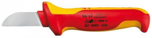 Нож кабельный KNIPEX 9852 1000V 180мм . инстументальная сталь,закаленная в масле.