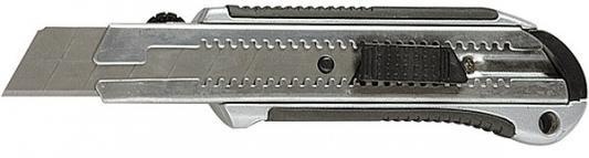 Нож MATRIX 78959 25мм выдвижное лезвие усиленная метал. направляющая метал. обрезин. ручка master