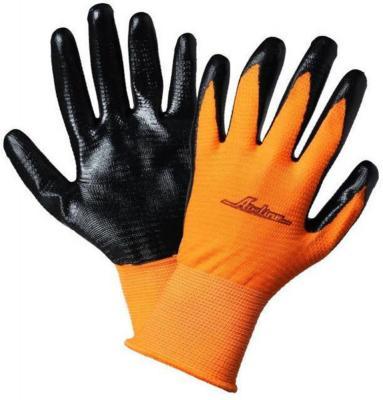 Перчатки AIRLINE AWG-L-03 с нитриловым покрытием цена