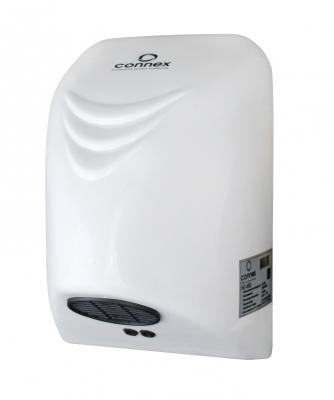 Сушилка для рук CONNEX HD-850 850Вт 8-12м/с задерж.выкл.1-5 сек IPX2 сушилка для рук connex hd 850