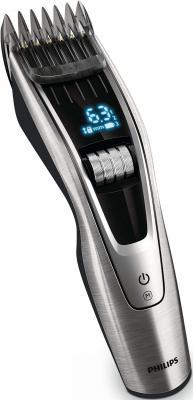 Машинка для стрижки волос Philips HC9490/15 чёрный серебристый машинка для стрижки волос philips hc5100 15 серебристый чёрный