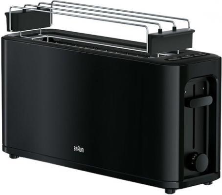 Тостер Braun HT3110 1000Вт черный тостер braun ht450bk
