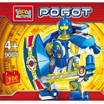 Конструктор Город мастеров Робот 100 элементов BL-9004-R конструктор робот 2в1 город мастеров