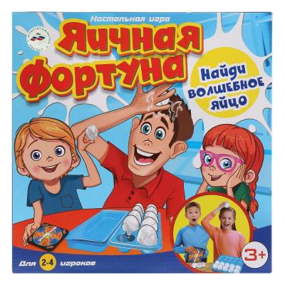 Купить Настольная игра ИГРАЕМ ВМЕСТЕ ходилка Яичная фортуна, 5 x 27 x 27 см, Игры для малышей