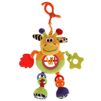 Купить Интерактивная игрушка УМКА Жираф с рождения, разноцветный, текстиль, унисекс, Игрушки-подвески