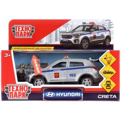 цена на Автомобиль Технопарк HYUNDAI CRETA ПОЛИЦИЯ серебристый CRETA-P-SL