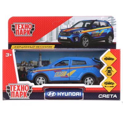 Инерционная машинка Технопарк HYUNDAI CRETA СПОРТ синий CRETA-S технопарк машинка инерционная lada 111 спорт