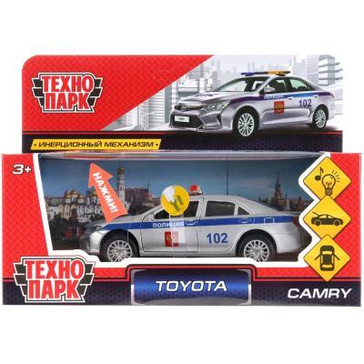 Полицейский пикап Технопарк TOYOTA CAMRY ПОЛИЦИЯ белый 12 см CAMRY-P-SL