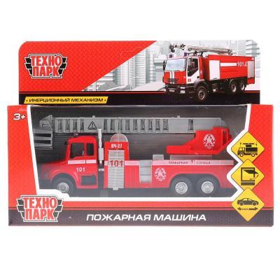 Пожарная машина Технопарк ПОЖАРНАЯ МАШИНА красный 15 см 251A1-R игрушка технопарк машина x600 h09084 r