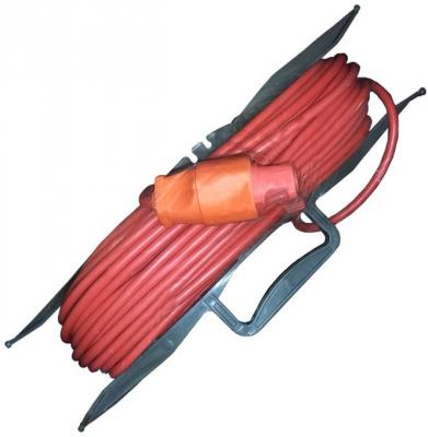 Удлинитель силовой на рамке GLANZEN ER-30-001 ПВС 2*0.75 30м удлинитель glanzen er 20 001