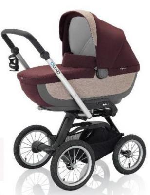 Купить Коляска для новорожденного Inglesina Quad на шасси Quad XT Black (AB60F6PTG + AE64G0000), коричневый, Коляски для новорожденных