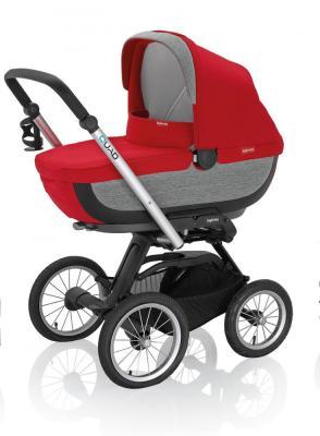 Купить Коляска для новорожденного Inglesina Quad на шасси Quad XT Black (AB60G0SHR + AE64G0000), красный, Коляски для новорожденных