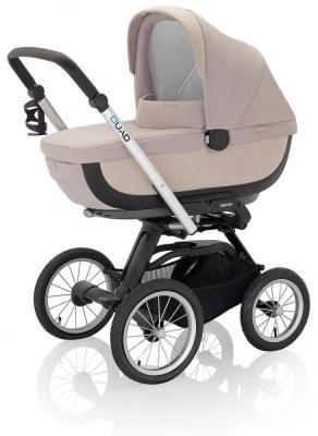 Купить Коляска для новорожденного Inglesina Quad на шасси Quad XT Black (AB60G0SND + AE64G0000), песочный, Коляски для новорожденных