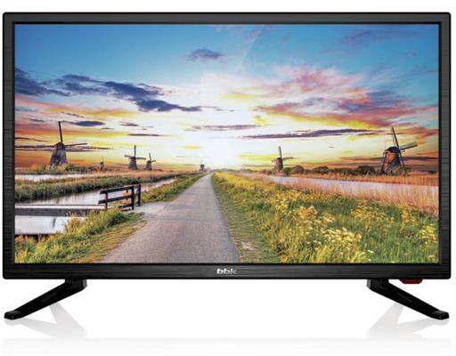 Телевизор BBK 20LEM-1027/T2C черный жк телевизор bbk 20 20lem 1026 t2c 20lem 1026 t2c