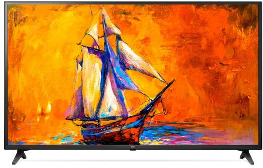 цены на Телевизор LG 55UK6200PLA черный