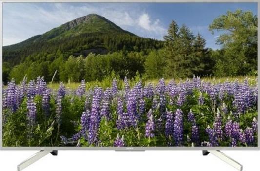 цена на Телевизор LED 55 SONY KD-55XF7077 серебристый 3840x2160 400 Гц Wi-Fi USB
