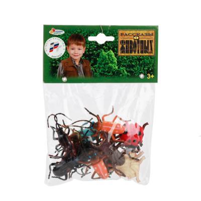 Набор фигурок ИГРАЕМ ВМЕСТЕ Набор из 12 жуков 5 см