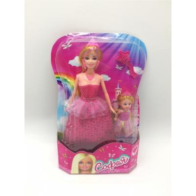 Кукла Карапуз СОФИЯ ПРИНЦЕССА С ДОЧЕРЬЮ 29 см 66341R-S-BB куклы карапуз кукла карапуз принцесса ариэль