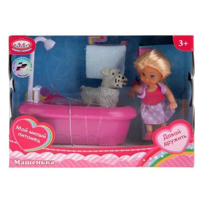Кукла Карапуз Машенька 12 см MARY018X-RU карапуз мини кукла машенька брюнетка