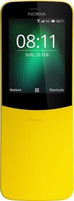 Nokia 8110 4G DS TA-1048 Yellow Мобильный телефон мобильный телефон sop 4g m6