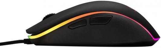 Мышь проводная Kingston Pulsefire Surge чёрный USB